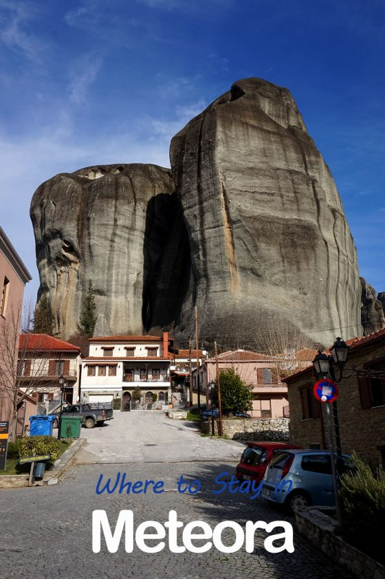 Meteora Hotels and Towns