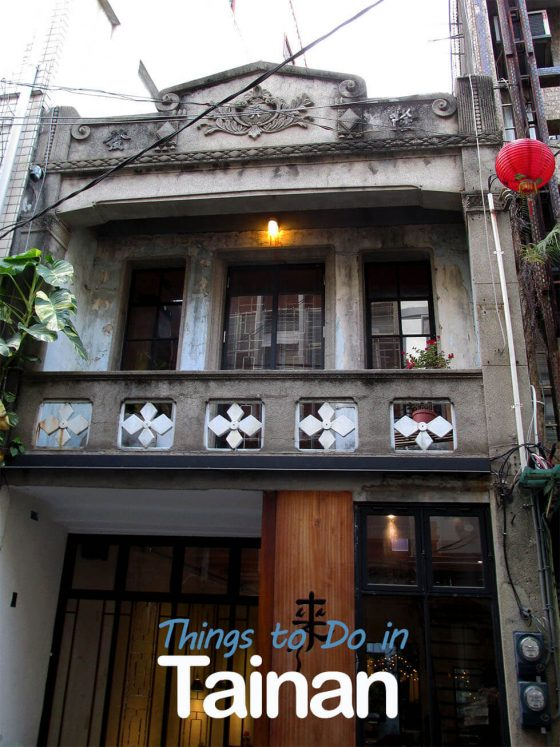 Old house in Tainan
