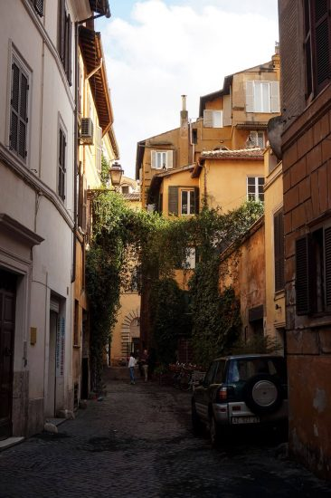 Street in the Jewish Ghetto of Rome