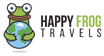 Happy Frog Travels Logo