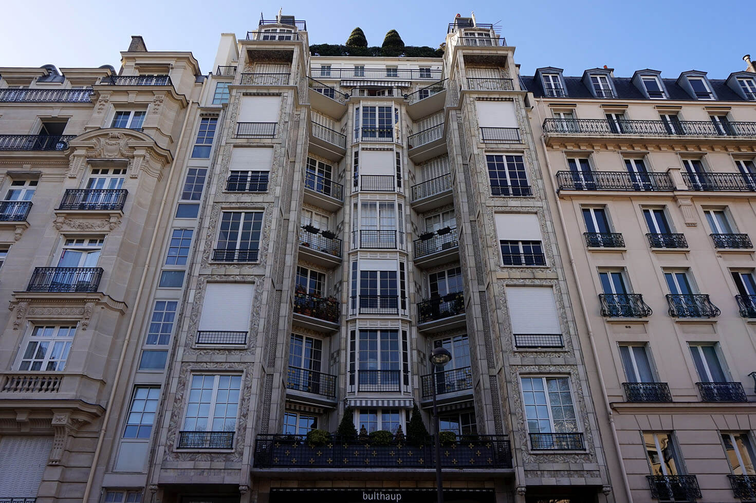 Art Deco Residential Building in Rue Franklin