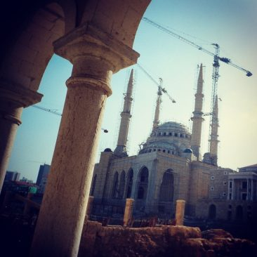 View over Mohammed Al-Amin Mosque