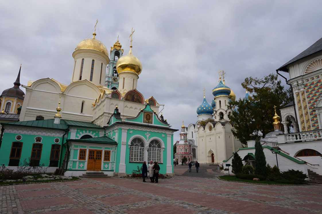 Trinity Cathedral in Sergiev Posad
