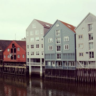 The Old Harbour of Trondheim