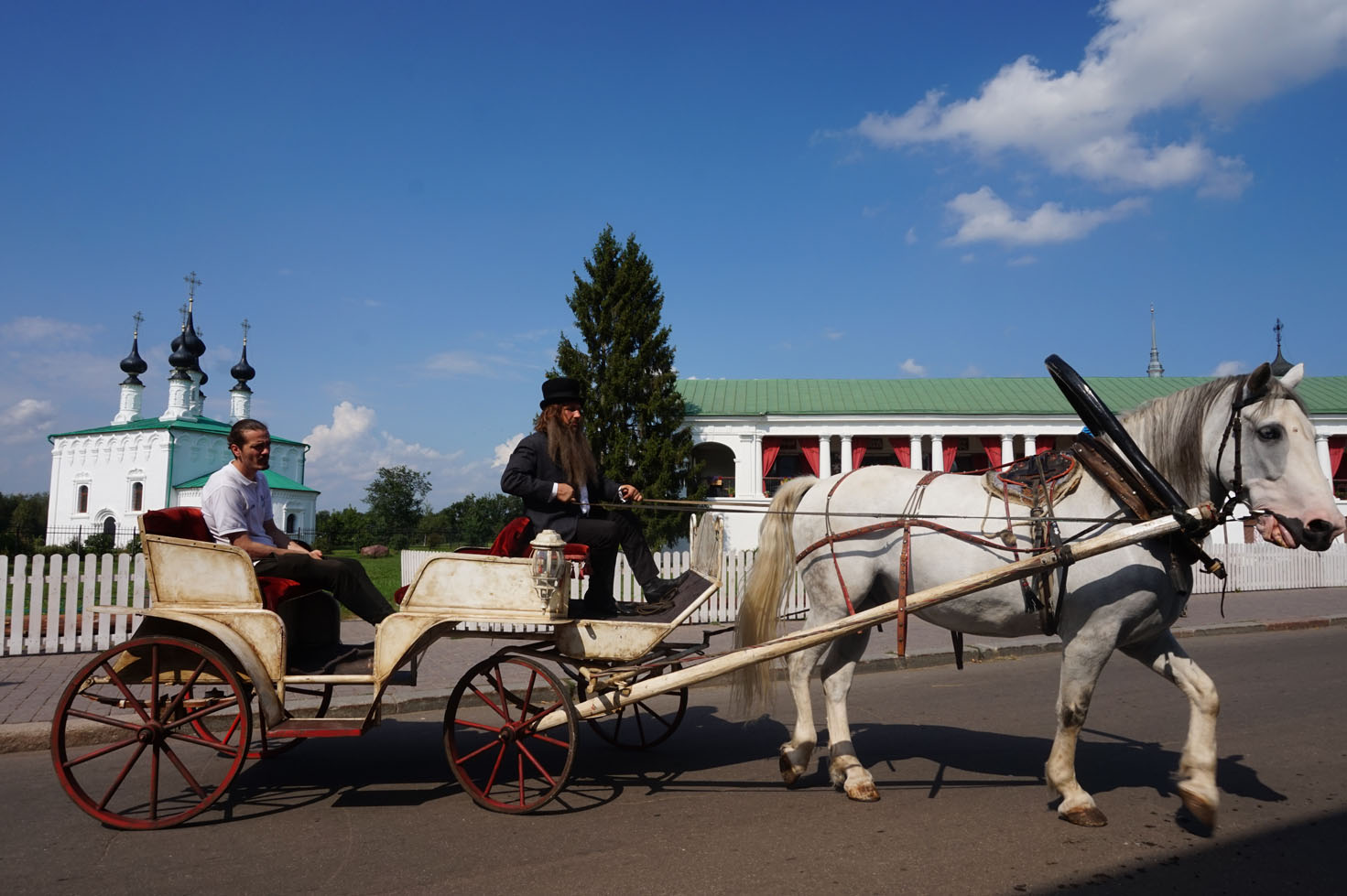 Making a movie in Suzdal