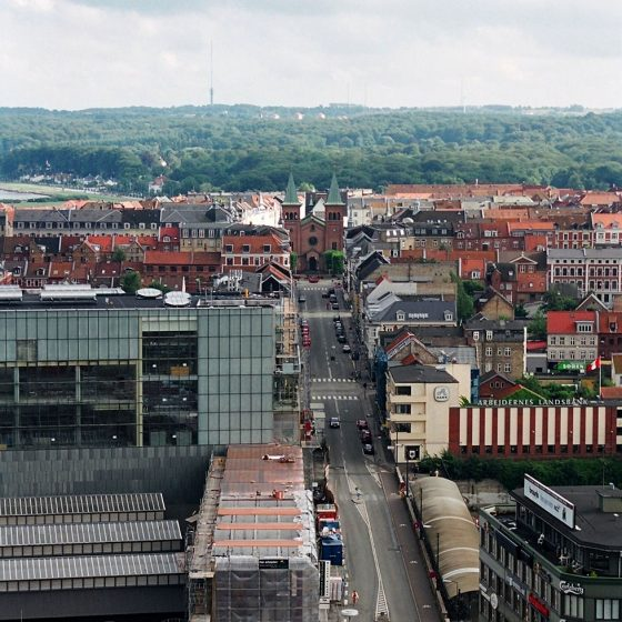 View of Aarhus from the Town hall