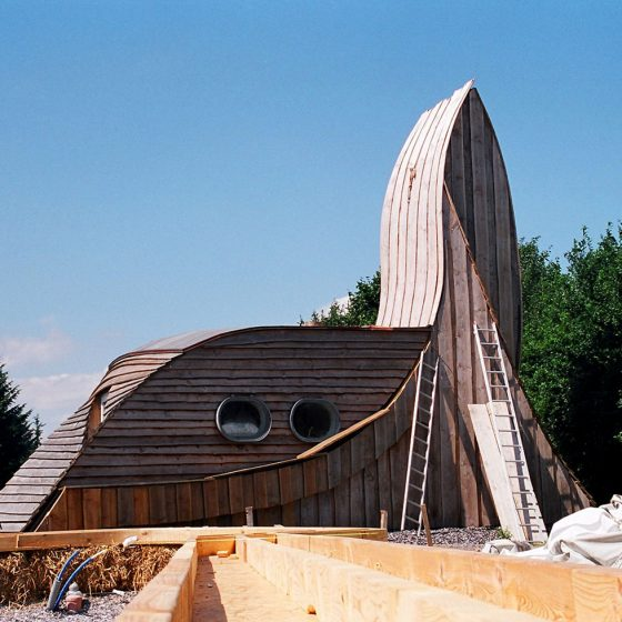 Sustainable house in Friland