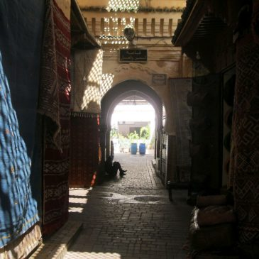 Fez - Street in the Old Town