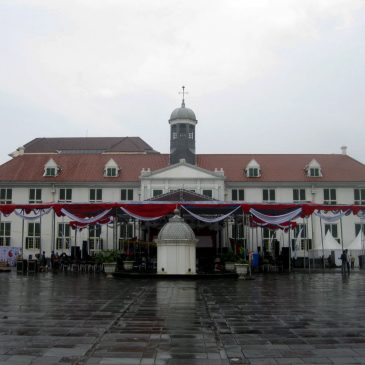 The old City Hall in Jakarta