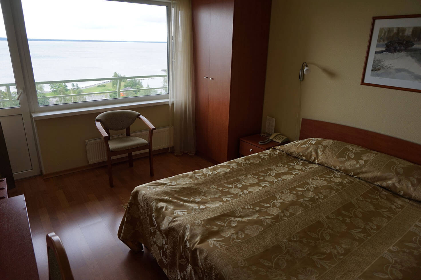 Our room in Hotel Karelia