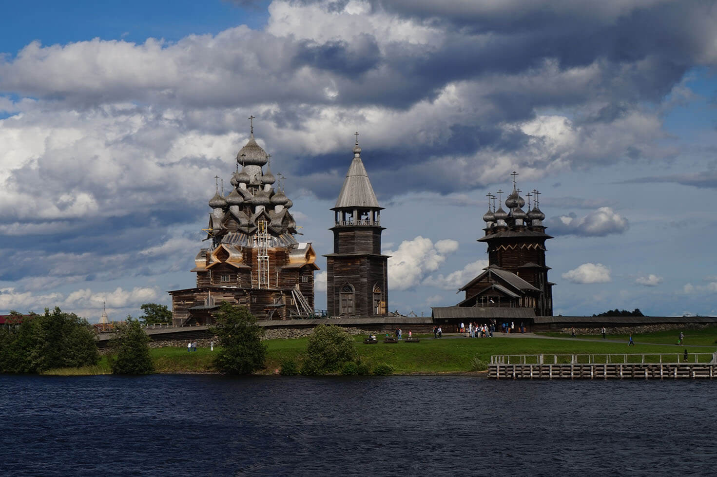 View of Kizhi Pogost from the lake
