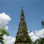 Day trip to Oudong - Stupa with a head