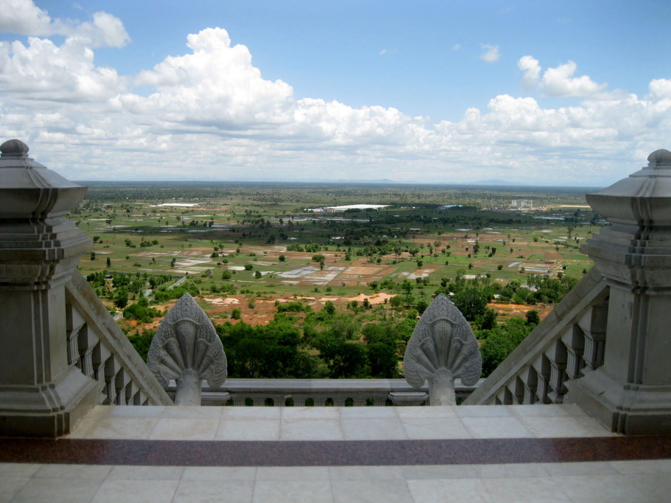 View from Oudong hill
