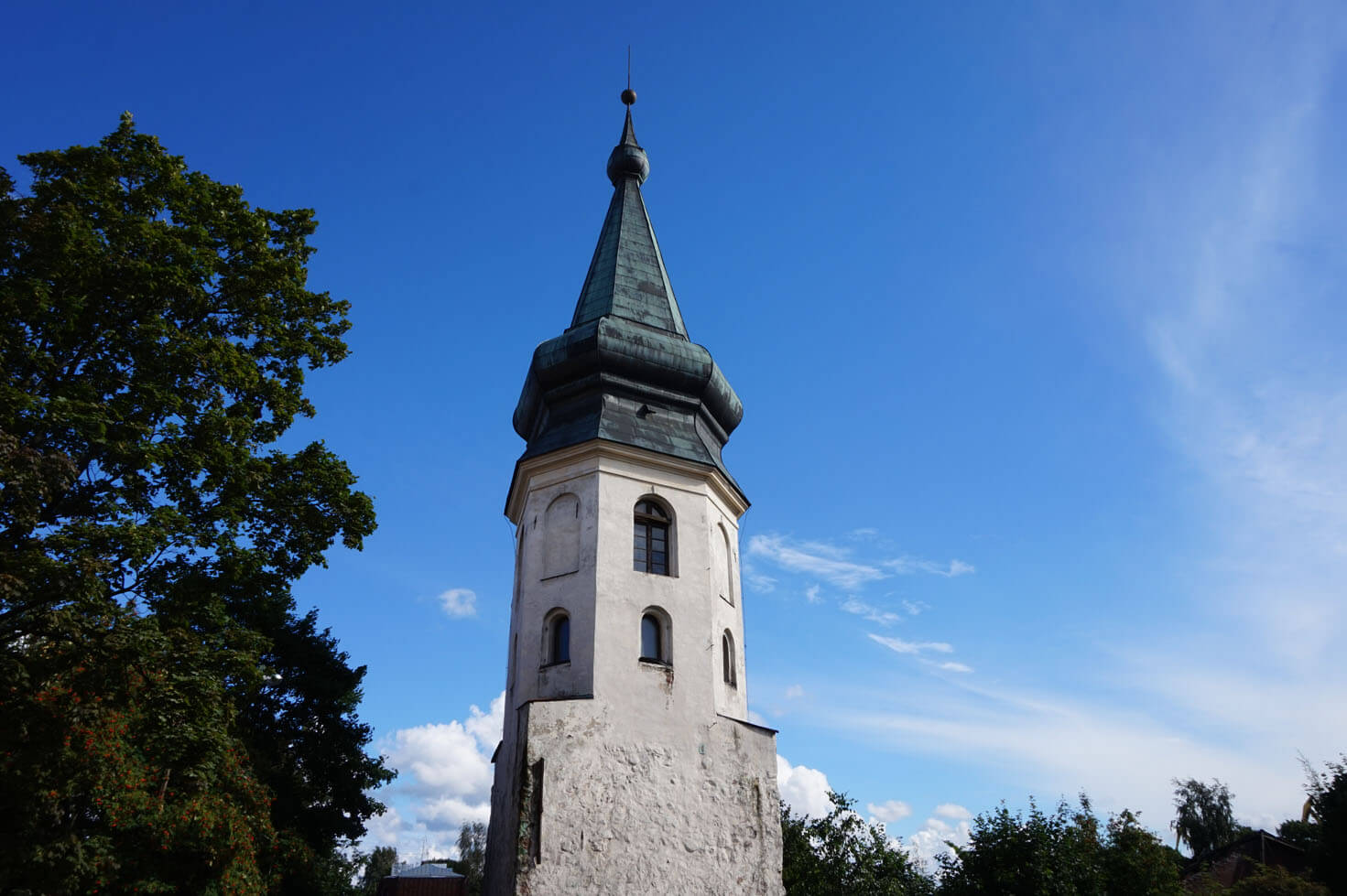 Vyborg Old Town Hall Tower