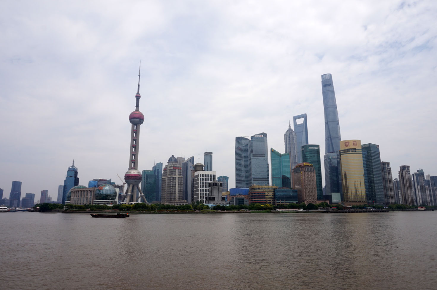Pudong's skyscrapers