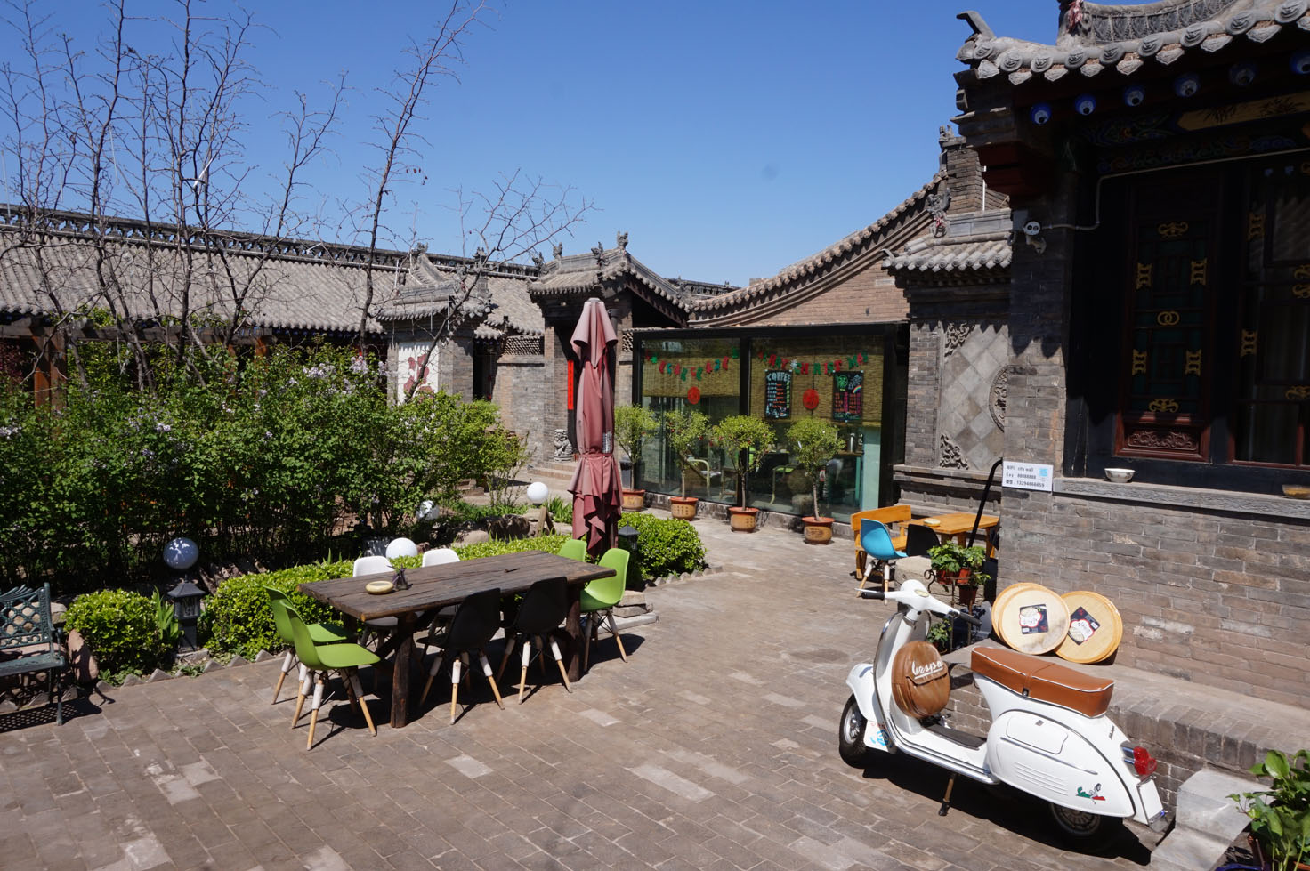 Our hotel in Pingyao