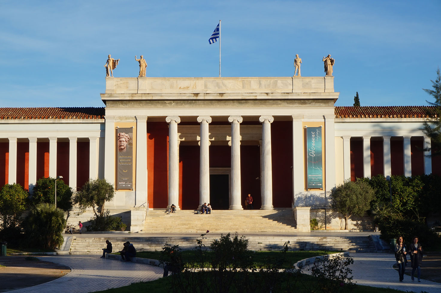 Archeological Museum of Athens - neoclassical architecture