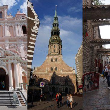 Vilnius, Riga or Tallinn