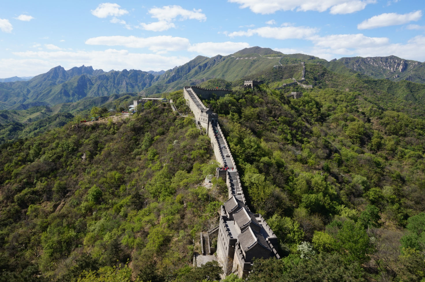 Great Wall: Outstanding views are everywhere
