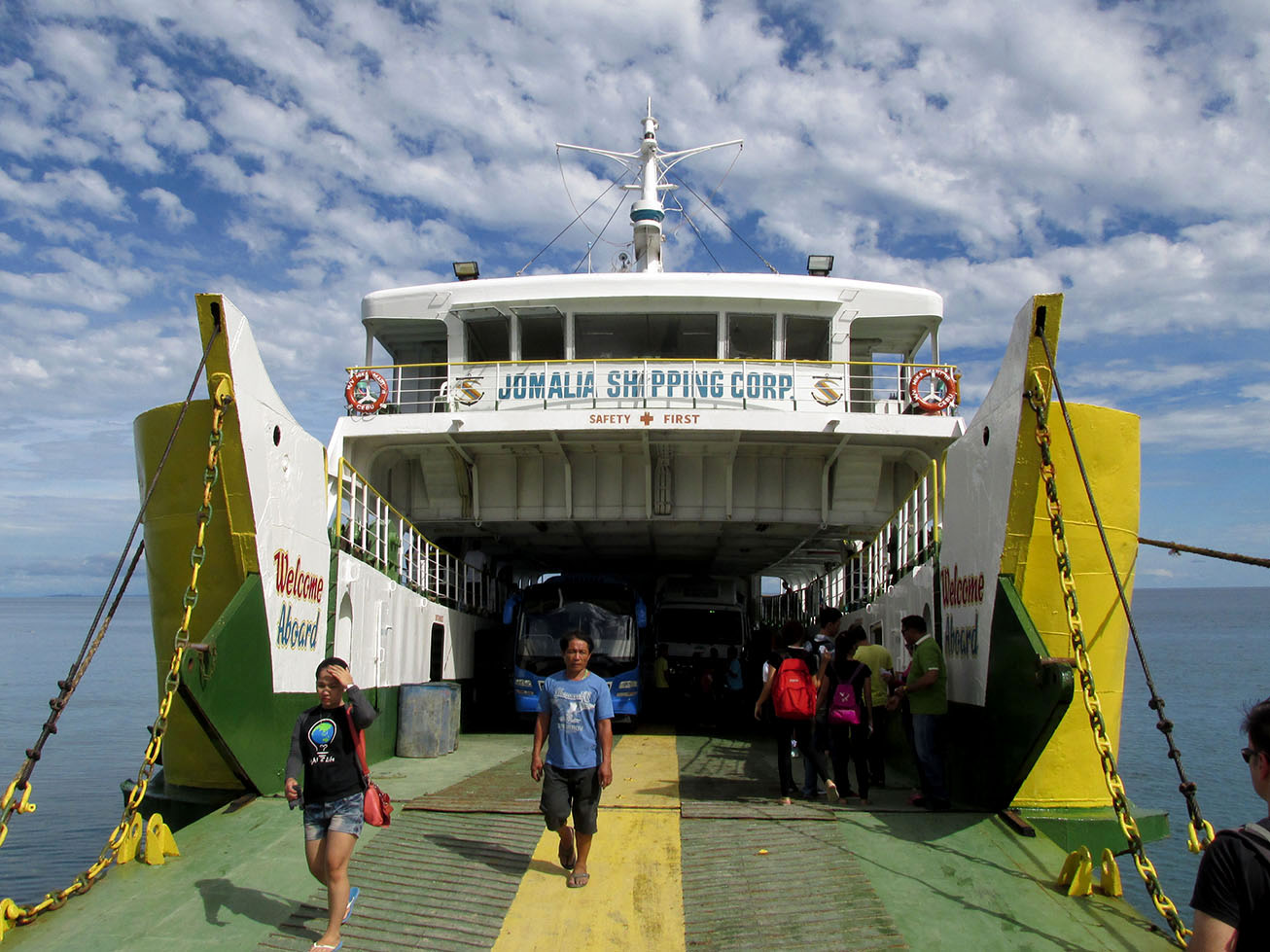 Ferry to Camotes Islands