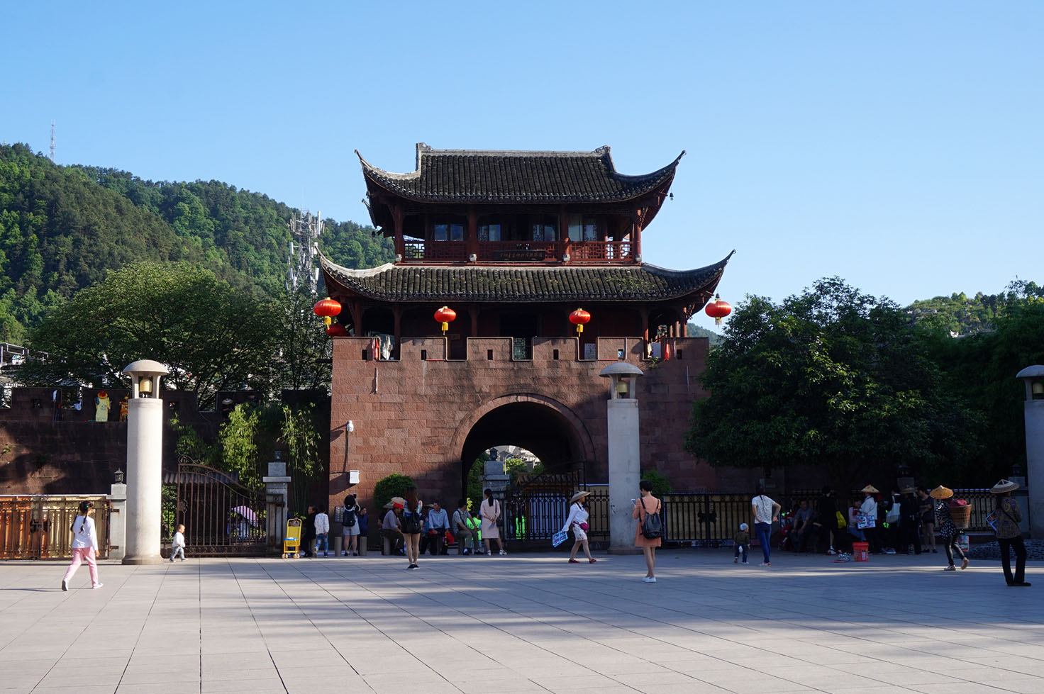 City gate in Fenghuang Ancient Town