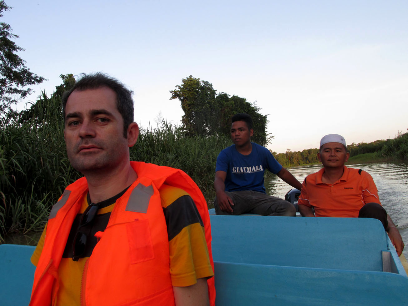 Our private tour on Kinabatangan River