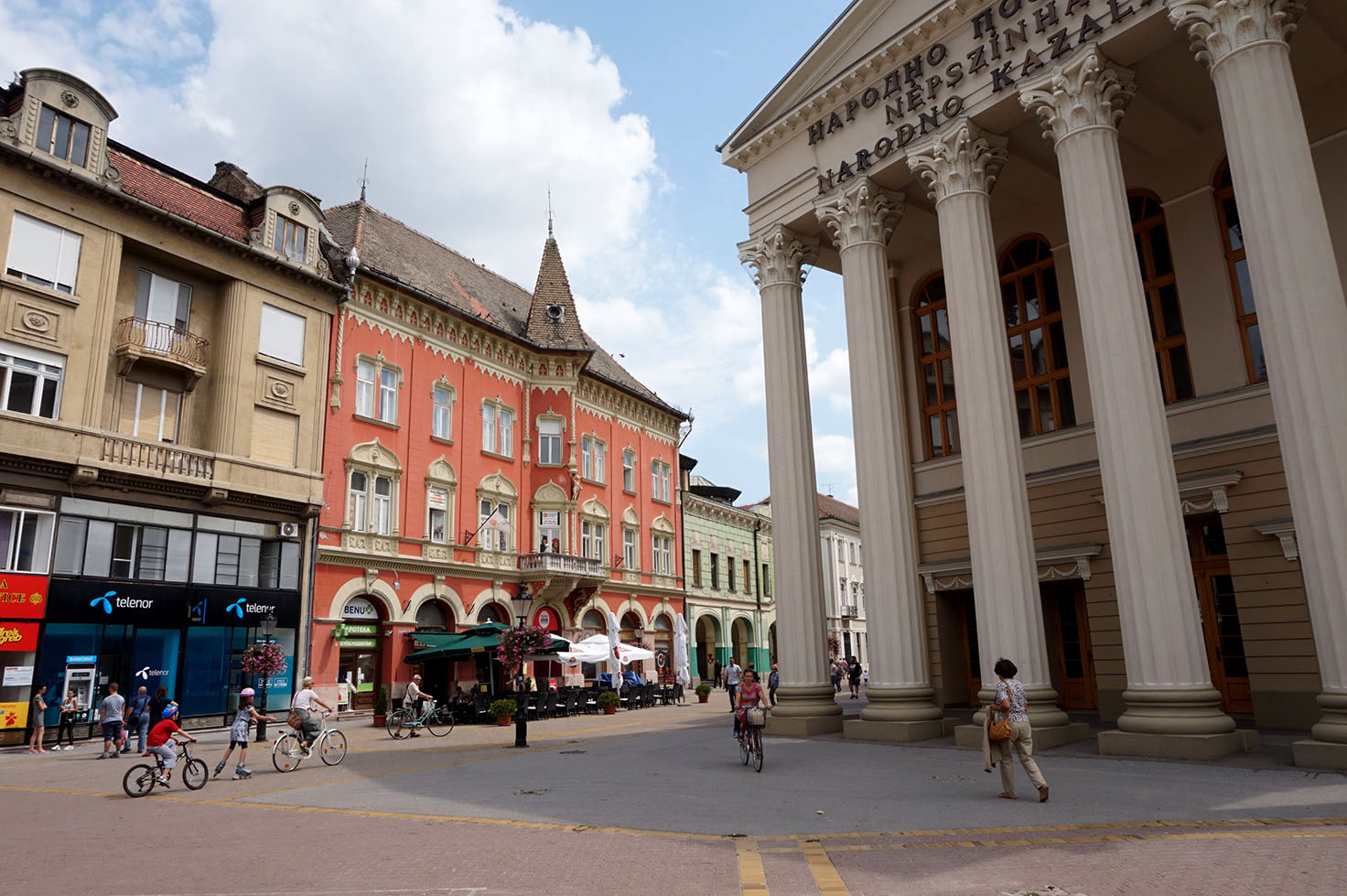 Subotica Serbia's Nicest City - National Theater