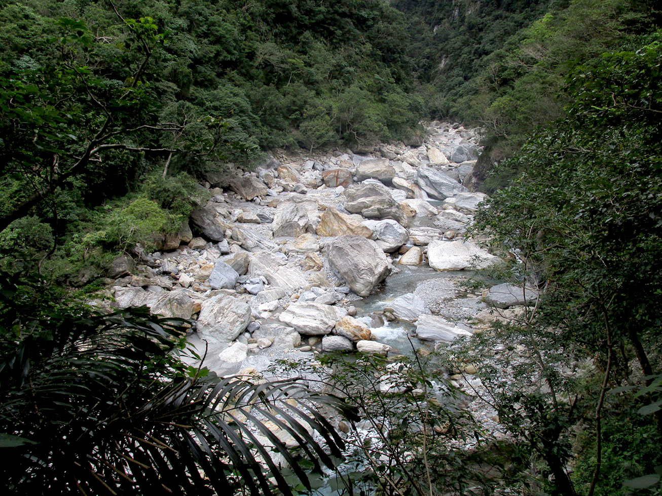 One of the tiny rivers