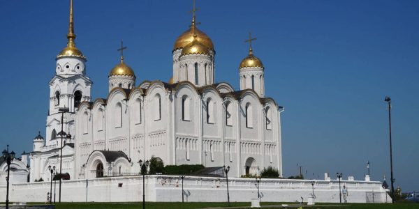 Golden Ring of Russia Vladimir - Dormition Cathedral