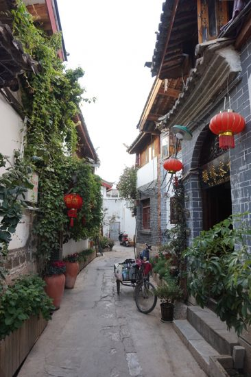 Street in the Old Town of Lijiang