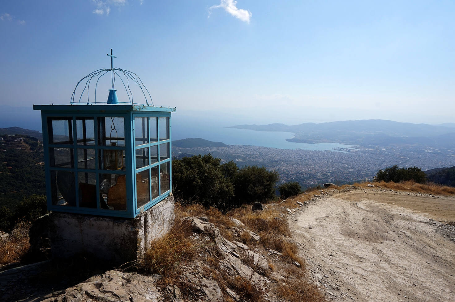 Views from Mount Pelion